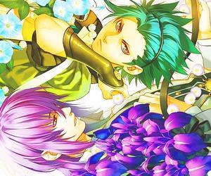 kamigami no asobi, takeru, and tsukito image