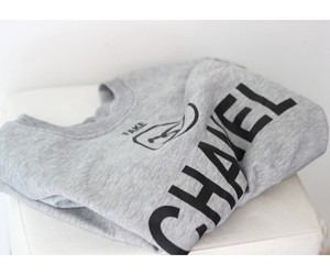 fashion, grey, and pullover image