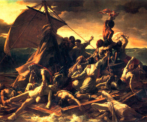 théodore géricault and raft of medusa image