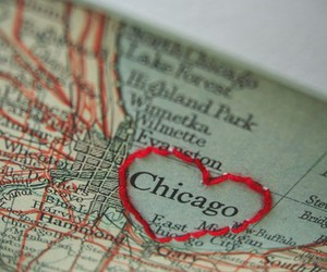 chicago, love, and embroidery image