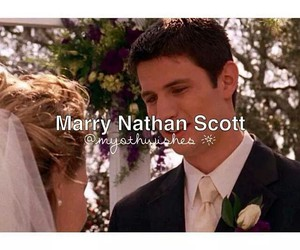 haley, marriage, and nathan image