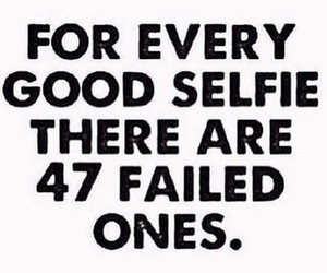 selfie, funny, and quote image