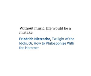 life, quotes, and music image