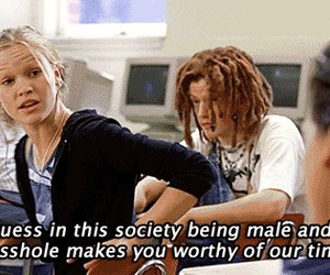 quote, 10 things i hate about you, and movie image