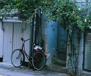 bicycle, hipster, and street image