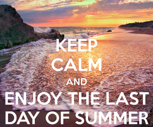 summer, enjoy, and keep calm image