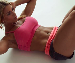 blonde, hot body, and healthy life image