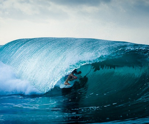 waves, ocean, and surf image