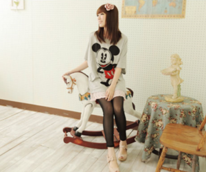 fashion and mickey mouse image