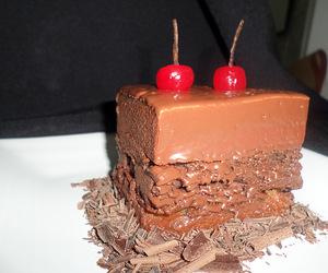 cake, food, and FRUiTS image