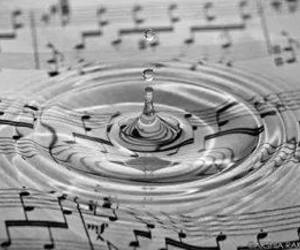 music and water image