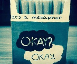 metaphor, the fault in our stars, and okay image