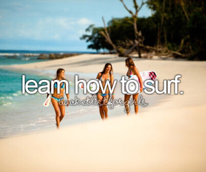 surf, beach, and bucket list image
