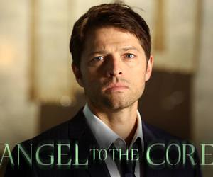 angel, supernatural, and misha collins image