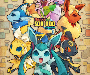 pokemon, vocaloid, and anime image