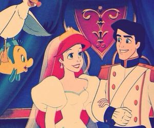 disney, love, and ariel image