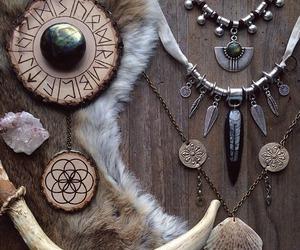 jewellery, jewelry, and pagan image