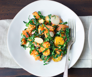 carrot, MISO, and salad image
