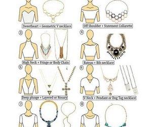 beauty, necklace, and clothes image
