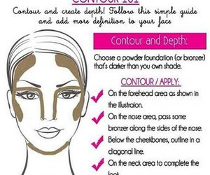 beauty, contour, and face image