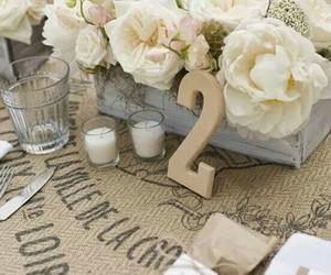 decoracion, flowers, and romantic image