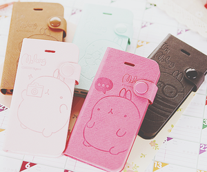 brown, cases, and molang image