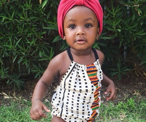 baby, black, and cute image