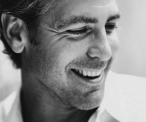 george clooney, smile, and sexy image