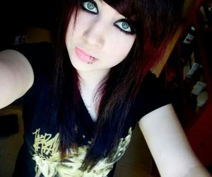 piercing, emo, and scene image