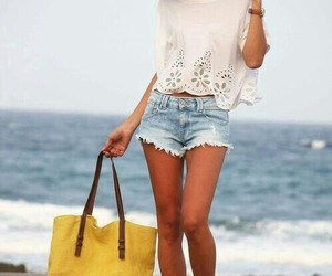 bag, summer, and love image