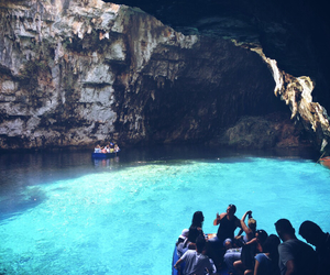 beauty, cave, and Greece image