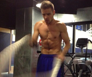 fitness, liam, and gym image