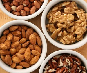 food, nuts, and healthy image
