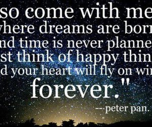Dream, forever, and peter pan image