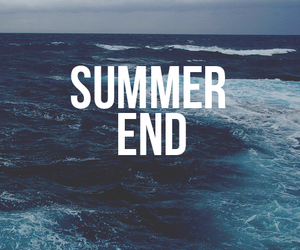 end, summer, and ocean image