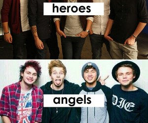 angels, heroes, and michael clifford image