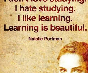 learning, quotes, and studying image