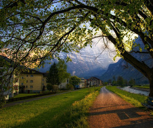 dreams, road, and switzerland image