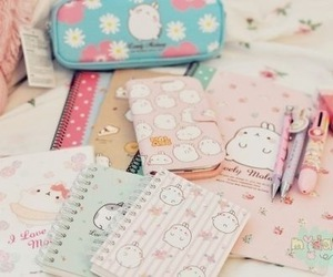 school stuff, cute, and coisas fofas image