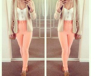 beautiful, clothes, and pink image