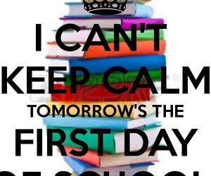 school, no, and tomorrow image