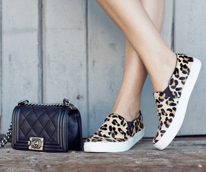 fashion, chanel, and shoes image