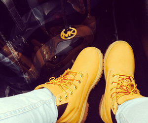 mk, shoes, and timberland image