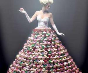 cupcake and dress image