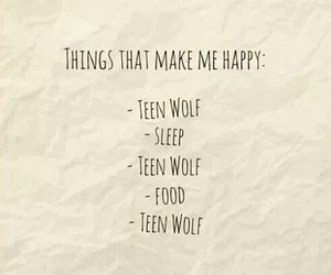food, sleep, and teen wolf image