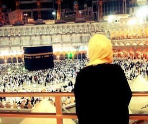 muslim, mecca, and hijab image