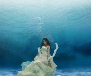 photography, princess, and sea image