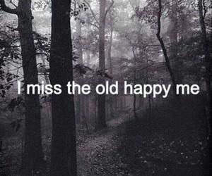 sad, happy, and miss image