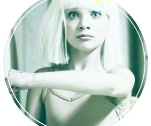 chandelier, Sia, and maddie image