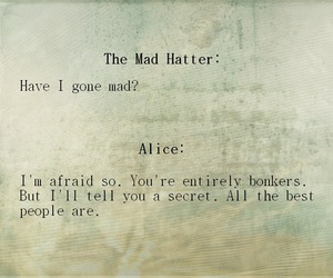 alice, alice in wonderland, and smilewithme image